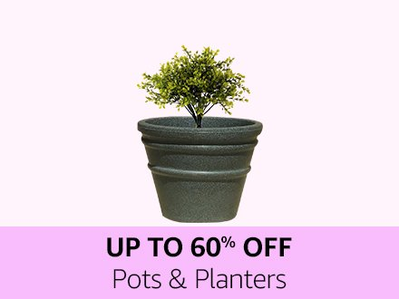Up to 60% off pots & planters