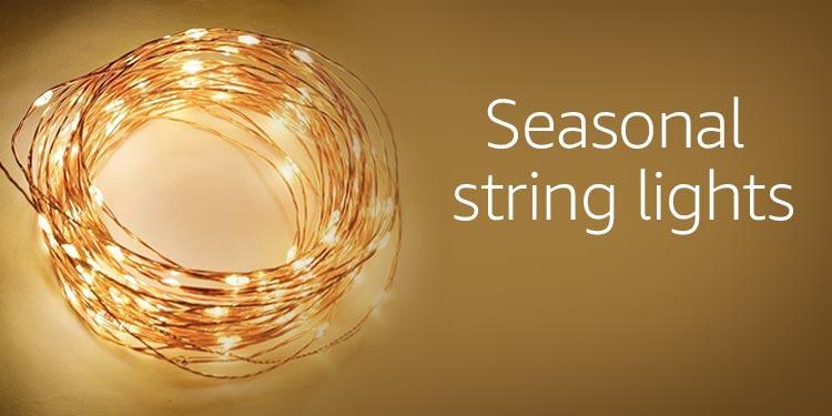 Seasonal String Lights