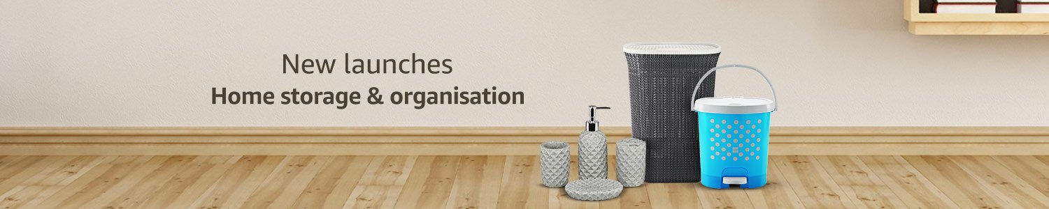 New launches home storage & organisation