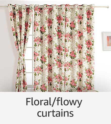 Floral/flowy curtains