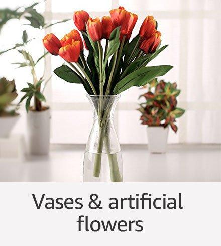 Vases & Artificial flowers