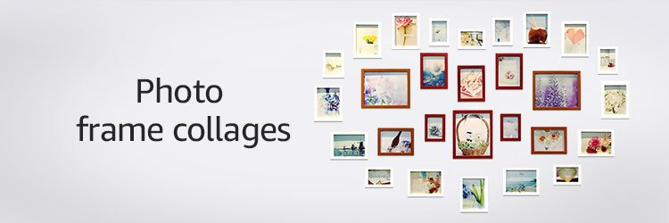 Photo frame collages
