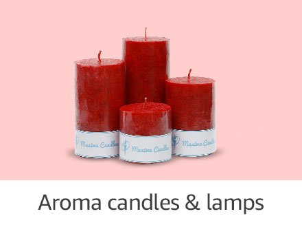 Aroma candles & lamps