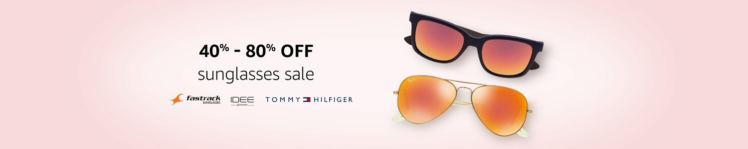 40% to 80% off Sunglasses sale
