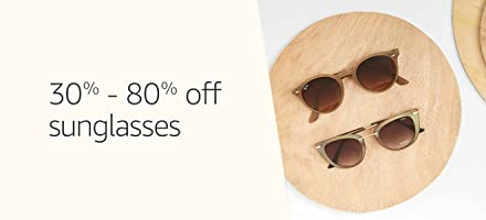 Sunglasses 30% to 80% Off