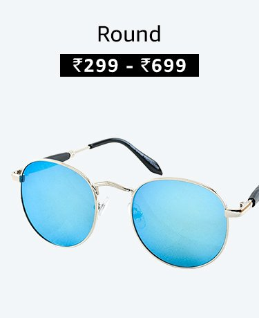 Round Sunglasses at best prices