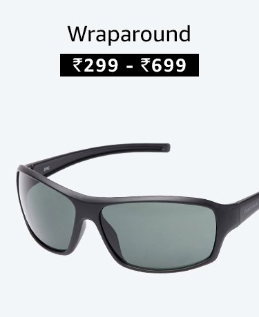 Wraparound Sunglasses at best prices