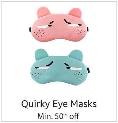 Quirky-eye Masks