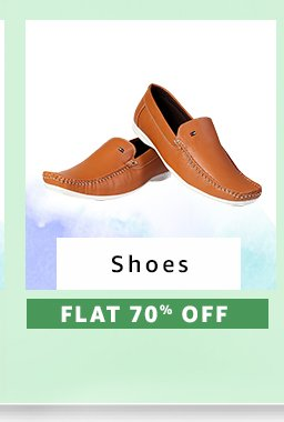 Shoes : Flat 70% Off