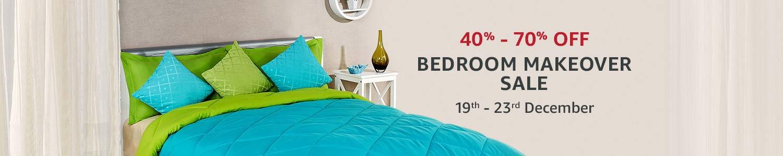 Bedroom makeover sale