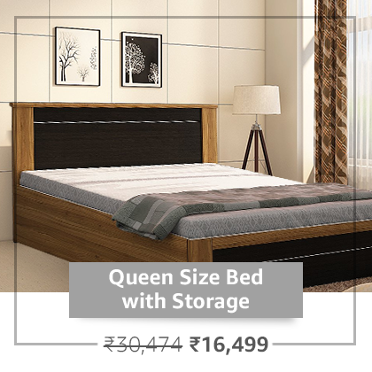 Queen Size Bed With Storage