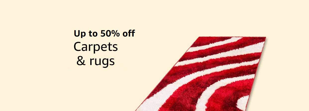 Up to 50% off carpets & rugs