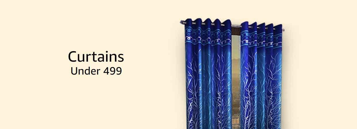 Curtain under 499