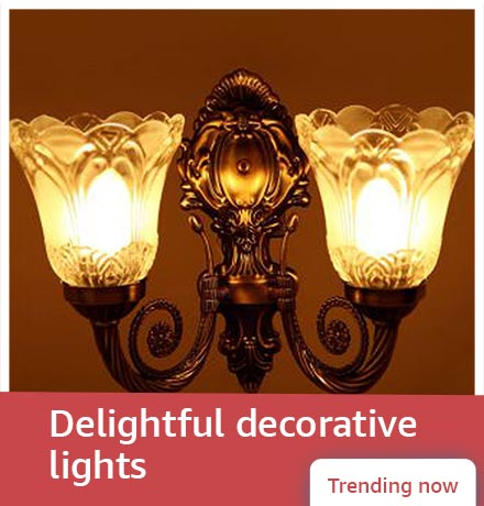 Delightful decorative lights