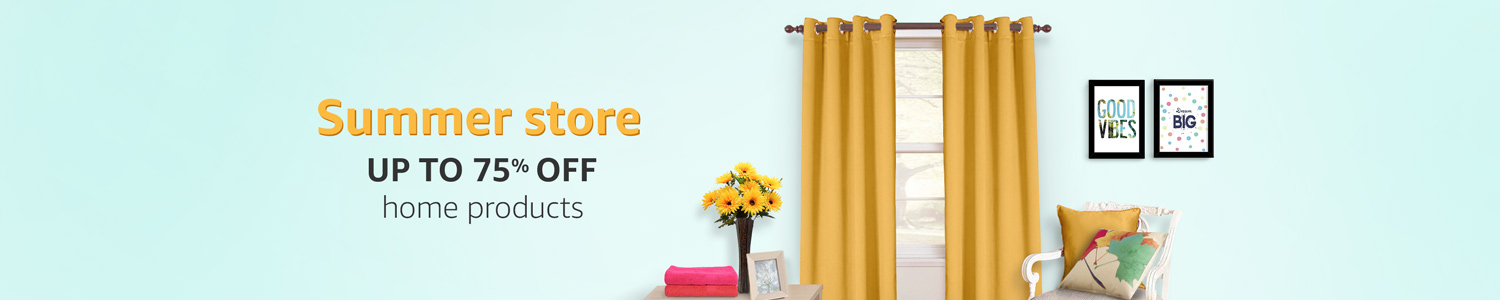 Summer Store Up to 75% off home products