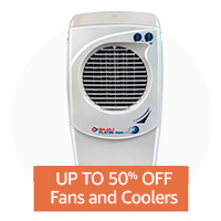 Up to 50% off: Fans & Coolers