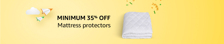 Mattress protectors Minimum 35% off