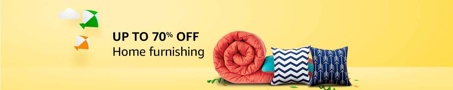 Home furnishing : up to 70% off
