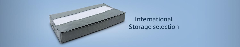 International storage selection