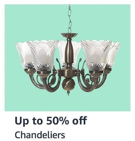 Up to 50% off Chandeliers