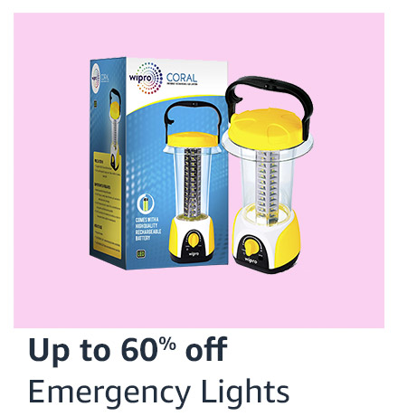 Up to 60% off Emergency Light