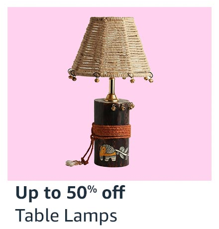 Up to 50% off Table Lamps