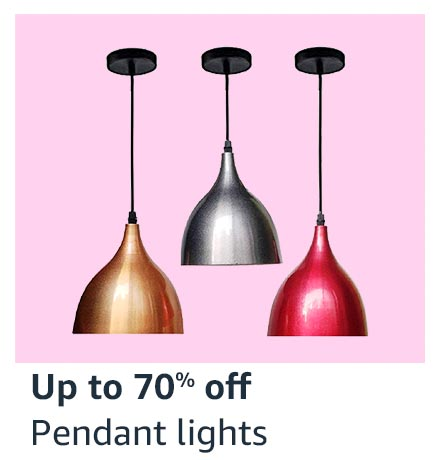 Up to 70% off Pendant Lights