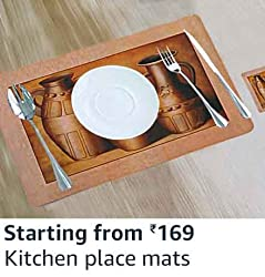 Kitchen place mats