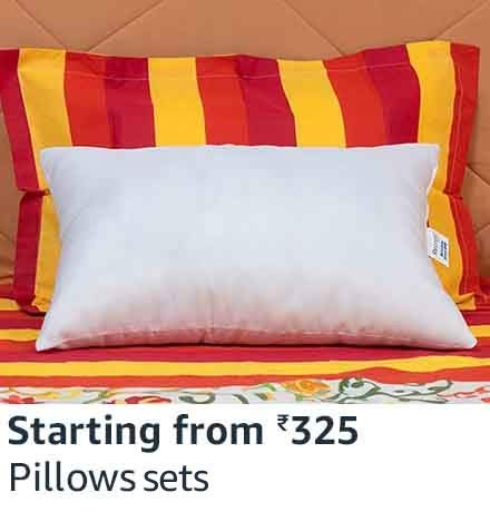 Pillows starting 325
