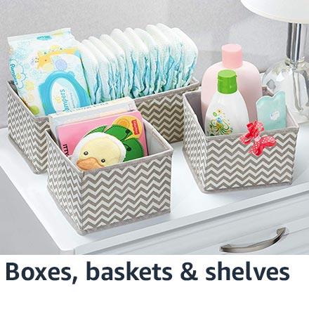 Boxes, baskets & shelves