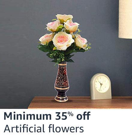 Min 35% off Artificial flowers