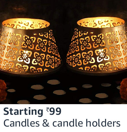 Candle and candle holders
