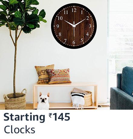 Clocks starting 145