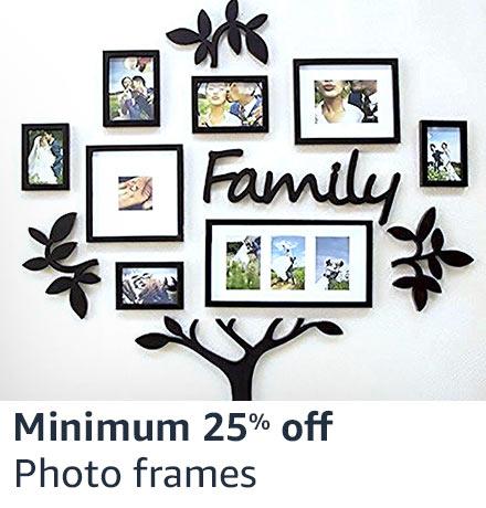 Photo frames Min 25% off