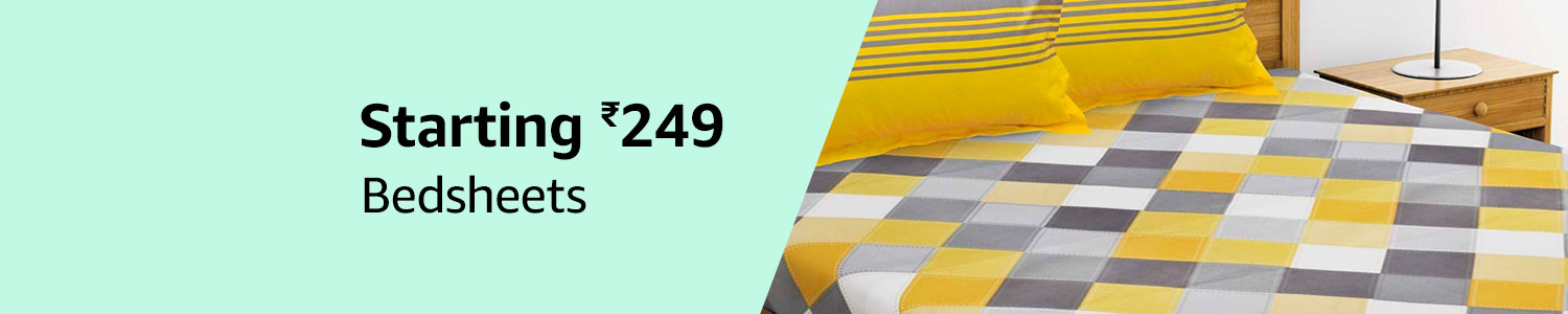 Bedsheets starting 249