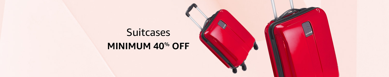 off on Suitcases & Trolley Bags