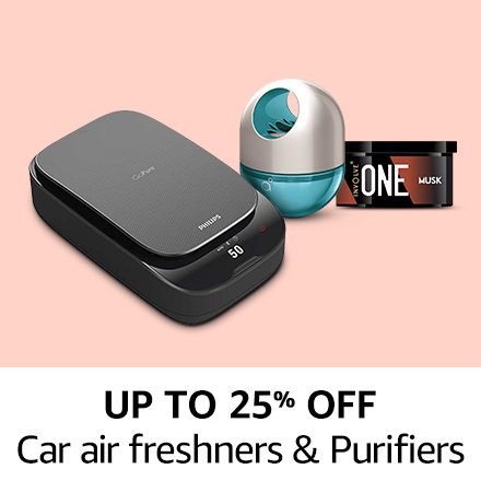 up to 25% off Car air freshners & Purifiers