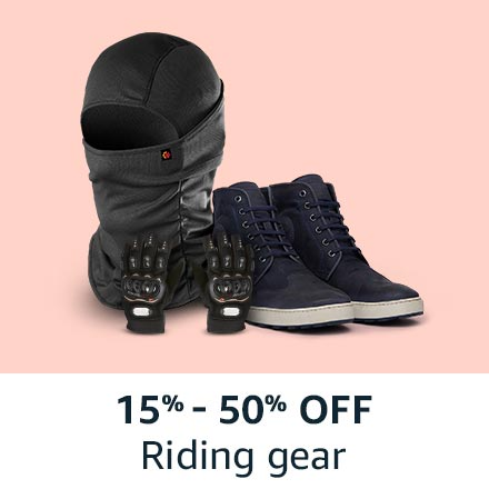 15% - 50% off riding gear