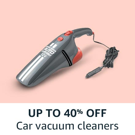 up to 40% off car vacuum cleaners