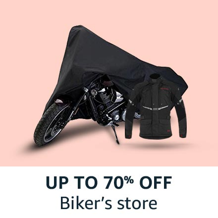 up to 70% off biker's store