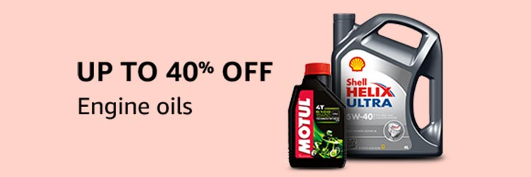 Engine oils Up to 40% off