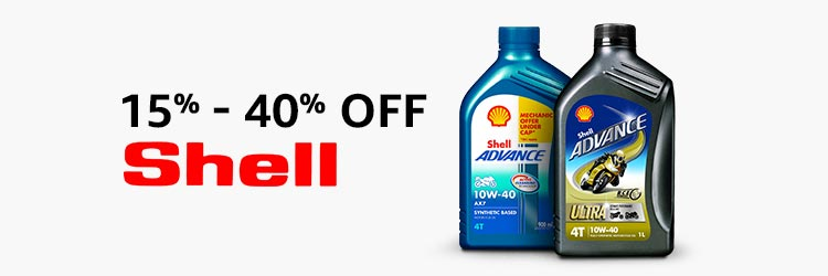 10-40% off shell