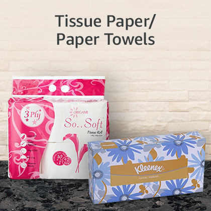 Tissue paper/ paper towels