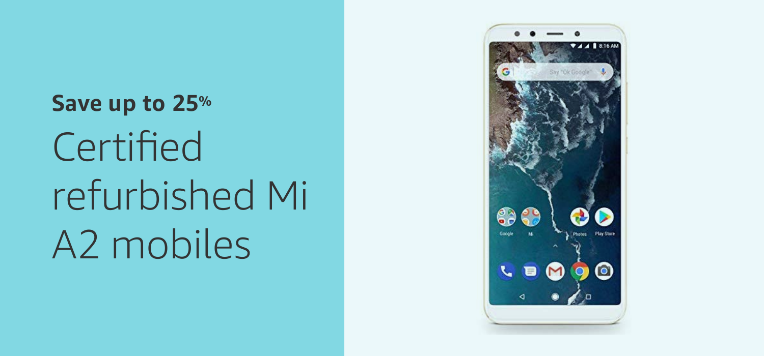 Certified Refurbished Mi Phones