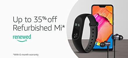 Certfied Refurbished Mi Sale