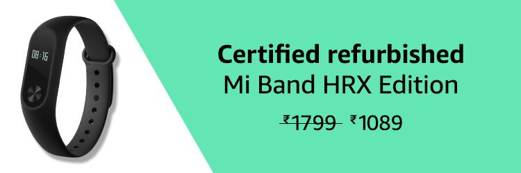 Mi HRX Band