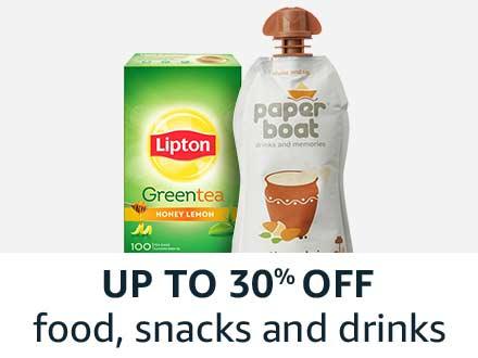 food, snacks and drinks