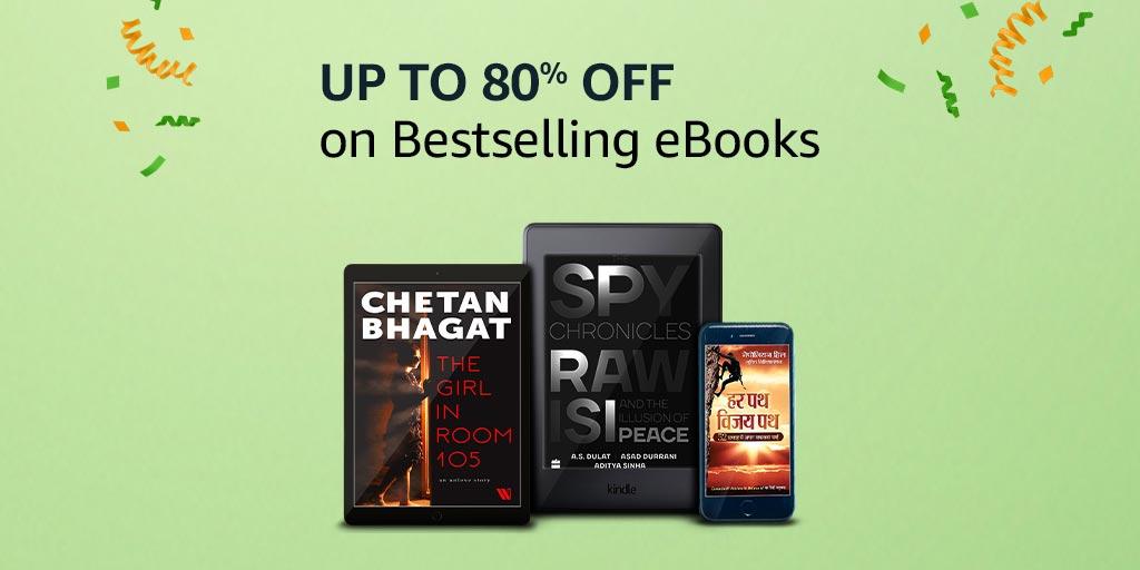 Bestselling eBooks: Upto 80% off