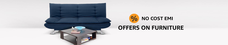No cost emi on Furniture
