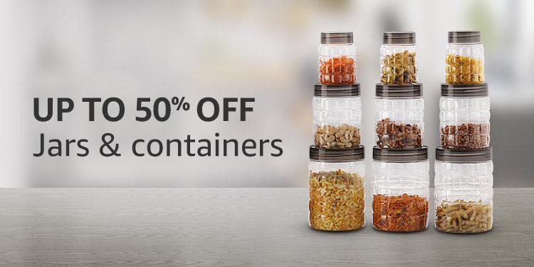 Great Discounts On Kitchen Storage Essentials Buy Water